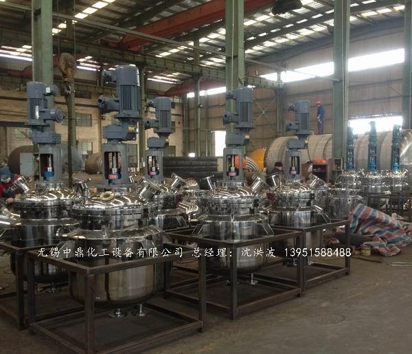 电加热不锈钢反应釜的5大优点