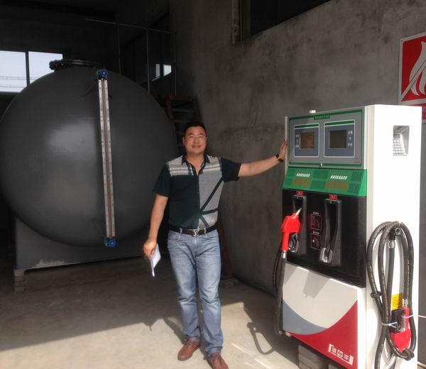 柴油储罐农机加油系统