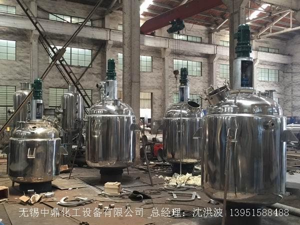 国内不锈钢电加热反应釜等制造企业需要原始创新
