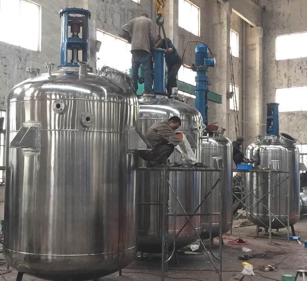 不锈钢反应釜 不锈钢反应罐