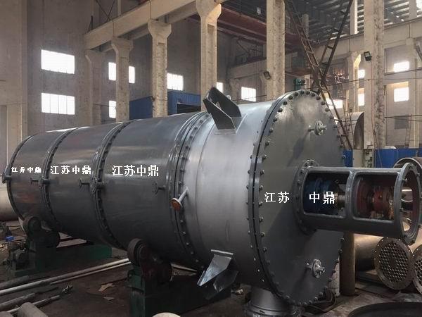 蒸汽加热刮板薄膜蒸发器 蒸汽夹套加热薄膜蒸发器